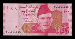 Pakistán 100 Rupees 2017 Pick 48l Sign 2 SC UNC - Pakistan