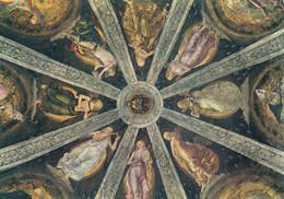 CARTOLINA  LORETO,MARCHE,L.SIGNORELLI (1491-1496)SAGRESTIA DI S.GIOVANNI-CUPOLA,STORIA,CULTURA,RELIGIONE,NON VIAGGIATA - Ancona