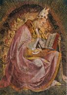 CARTOLINA  LORETO,MARCHE,L.SIGNORELLI (1491-1496)SAGRESTIA DI S.GIOVANNI-S AMBROGIO DOTTORE DELLA CHIESA,NON VIAGGIATA - Ancona