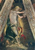 CARTOLINA  LORETO,MARCHE,L.SIGNORELLI (1491-1496)SAGRESTIA DI S.GIOVANNI-ANGELO CHE SUONA,STORIA,MEMORIA,NON VIAGGIATA - Ancona