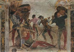 CARTOLINA  LORETO,MARCHE,L.SIGNORELLI (1491-1496)SAGRESTIA DI S.GIOVANNI-CONVERSIONE DI S.PAOLO,MEMORIA,NON VIAGGIATA - Ancona