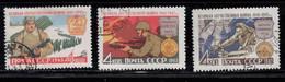 RUSSIA Scott # 2514B-D Used - War Of Liberation 1941-45 - Gebruikt