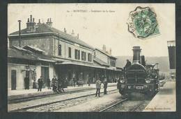 Doubs. Morteau ; Interieur De La Gare - Autres Communes