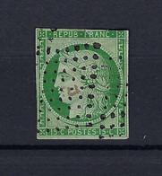 Frankreich Mi.2b Gestempelt Kat.1400,-€ - 1849-1850 Ceres