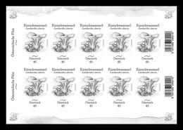 Austria 2020 Mih. 3549 Flora. Mushrooms. Chanterelle (black Proof) (M/S) MNH ** - Ensayos & Reimpresiones