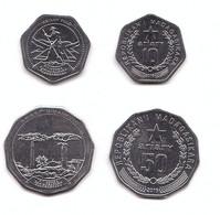 Madagascar - Set 2 Coins 10 + 50 Ariary 2016 UNC Lemberg-Zp - Madagascar