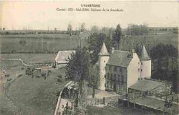 15 - Salers - Château De La Jourdanie - Vaches - CPA - Voir Scans Recto-Verso - Andere Gemeenten