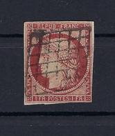 Frankreich Mi.7b Gestempelt Kat.1300,-€ - 1849-1850 Ceres