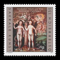 Austria 2021 Mih. 3578 Religious Art. Millstatt Lenten Veil. Adam And Eve MNH ** - 2011-... Neufs
