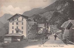 Finhaut Et Les Aiguilles Rouges - Hôtel De Finhauts - 1907 - VS Valais
