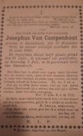 JOSEPHUS VAN CAMPENHOUT, RAMSDONK 1843-1900 - Imágenes Religiosas