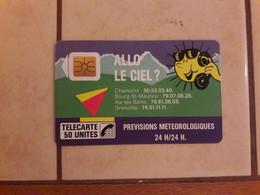 Cartes Téléphoniques Publiques F25 - 1988
