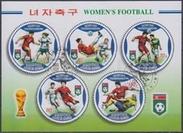 Soccer Football Korea Bl 675 2007 Women's World Cup Used - Usati