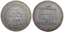 03004 GETTONE JETON TOKEN GAME TOKENS AMUSEMENT FAMILY AMUSEMENT CENTER CLOWN - Unclassified