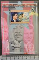 Guinea 2012 John Fitzgerald Kennedy Jackie Hoover Space Monroe Luther King S/sheet Mnh - Guinée (1958-...)