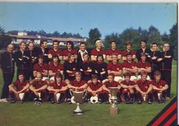 CALCIO FORMAZIONE  MILAN 1973/4 NEREO ROCCO - Soccer