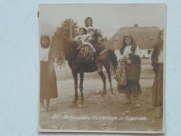 Romania 1916 Bukowina 696 Karpathen Karpaten Carpati Maramures 84 Felsoviso Felso Viso Photo Foto 8x8 Cm - Rumania