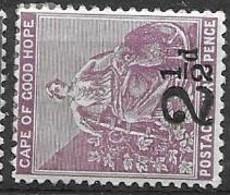 Cape Of Good Hope Mint Hinged * 5 Euros 1891 - Kap Der Guten Hoffnung (1853-1904)