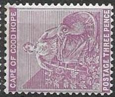 Cape Of Good Hope Mint Hinged * 12 Euros 1898 - Kap Der Guten Hoffnung (1853-1904)