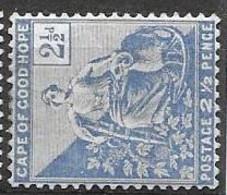 Cape Of Good Hope Mint Hinged * 6.5 Euros 1896 - Kap Der Guten Hoffnung (1853-1904)