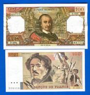 100  Fr  2  Billets - 100 F 1978-1995 ''Delacroix''