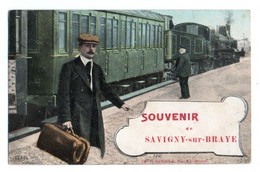(41) 3682, Savigny Sur Braye, LV & Cie Renoult, Souvenir De Savigny Sur Braye - Other Municipalities