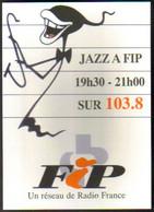 "Carte Postale ""Cart'Com"" Série ""Divers..."" - Jazz à FIP Sur 103.8 (radio FM) Nice (Radio France) - Reclame"