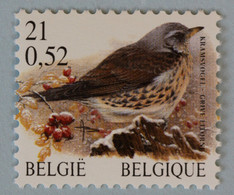 Grive Litorne   Neuf (**) 21F/0,52€      Bl. - 1985-.. Birds (Buzin)