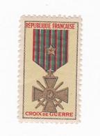 Vignette Militaire Delandre - Croix De Guerre - Militario
