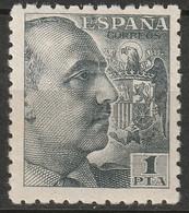 Spain 1940 Sc 702 Ed 921 MH* - 1931-50 Nuevos & Fijasellos