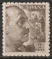 Spain 1941 Sc 703 Ed 922 MH* - 1931-50 Nuevos & Fijasellos