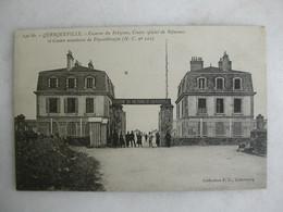 MILITARIA - QUERQUEVILLE - Caserne Du Polygone - Centre Spécial De Réformes (animée) - Casernas