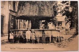 BARJOLS - Fontaine De La Place Capitaine Vincent - Barjols
