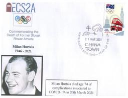 (LL 33) (Australia) COVID-19 Pandemic Related Death - Slovakia (21-03-2021) Milan Hurtala (Olympic Rower) - Ziekte