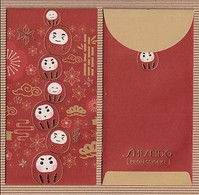 CC Chinese New Year 2021 'SHISEIDO' YEAR Of The OX CHINOIS Red Pockets CNY!! - Modern (from 1961)