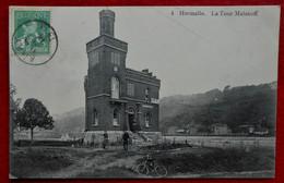 CPA Hermalle - La Tour Malakoff - Café - Engis