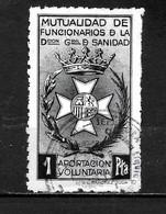 LOTE 2191 // (C015)  ESPAÑA BENEFICENCIA APORTACION VOLUNTARIA - Bienfaisance
