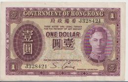HONG KONG P. 312 1 D 1936 VF - Hong Kong