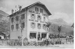 74 - Saint-Gervais-les-Bains - LE FAYET - J. RUBIN -  Ameublements Pour Hôtels, Villas, Appartements - Machines à Coudre - Saint-Gervais-les-Bains