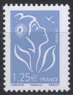 N° 4156 Marianne De Lamouche Valeur Faciale 1,25 € - 2004-08 Marianne Van Lamouche