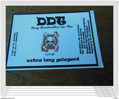 ETIQUETTE BIERE DDT - Bier