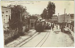 Saint-Georges-de-Didonne (Côte D'Argent) - Le Port - Arrivée Du Tramway De Royan - Animée Train - Saint-Georges-de-Didonne