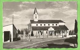 ANG216  CPSM  JURANCON   (Basses-Pyrénées)  L'Eglise Et Rue Du Général Leclerc  ++++ - Jurancon