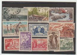 """TIMBRES   DIVERS   Du  CAMEROUN  """"  EXPOSITION INTERNATIONALE De PARIS """"  NEUFS Sans GOMME  Et  OBLITERES  -1937 - Unused Stamps"""