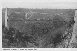 5 Cartes Lapleau Viaduc Des Roches Noir Du Transcorrezien Train - Altri Comuni