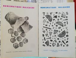Madagascar, Fascicules III Et IV De Chauvicourt. - Books & Software