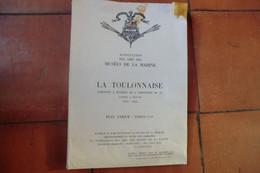 2 Plans Maquette La Toulonnaise Goélette à Huniers De 8 Caronades De 18 - Lancée à Toulon 1823 - 1843 - Other Plans