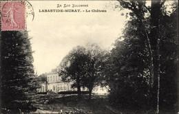CPA Labastide Murat Lot, Le Chateau - Otros Municipios