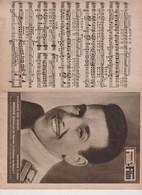 LUIS MARIANO -I Dos De Couverture Avec Partition De Mexico REVUE FUNK-FILM 1955 - Cinema & Television
