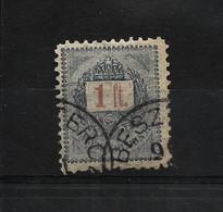 HONGRIE ROYAUME1888-1898 YT N° 35 Oblitéré 2 Dentlure Même Cote / Prix Fixe 0.75 Euro // LIQ. - Non Classificati